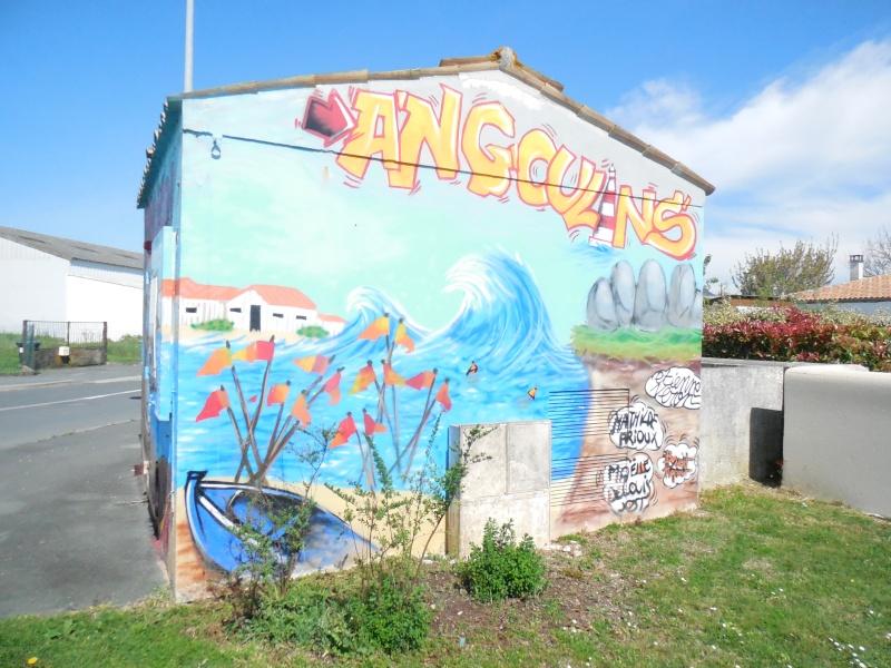 Charente Maritime (17) Angoulins / Déco Dscn8810