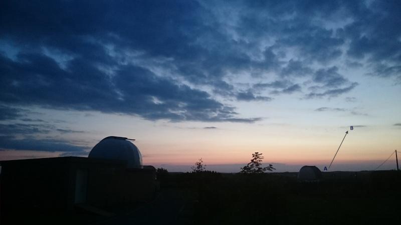2015: le 22/05 à vers 21h42 - Objet étrange dans le ciel -  Ovnis à Grapfontaine Province de Luxembourg -  Trajec11