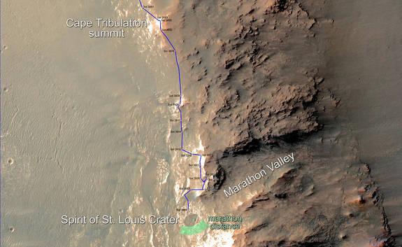 Opportunity et l'exploration du cratère Endeavour - Page 9 120