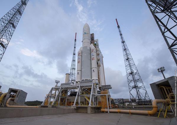 Lancement Ariane 5 ECA VA222 / Sicral-2 + Thor-7 - 26 avril 2015 - Page 4 159