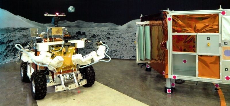Télécommande d'un robot explorateur par un astronaute en orbite 192