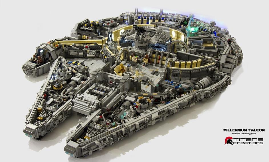 Le Millennium Falcon en maquette, mais pas n'importe laquelle ! Screen90