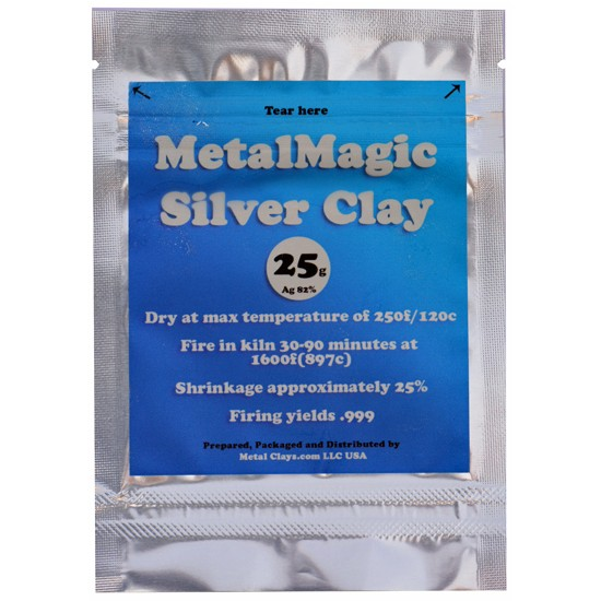 MetalClays USA lance une nouvelle pâte d'argent Metalm10