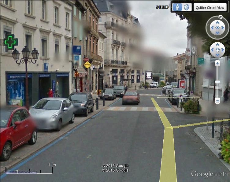STREET VIEW : scène insolite à Mazamet Mazame11