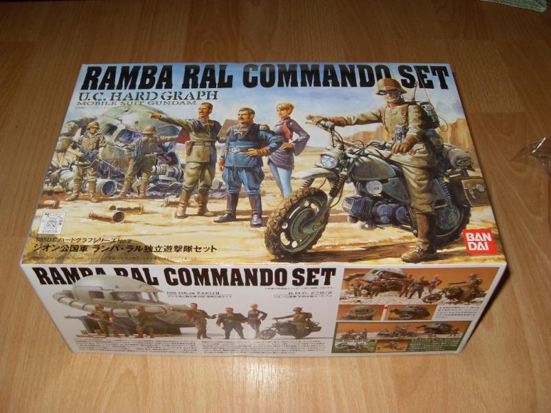 Ramba Ral Commando Set, Bandai, 1:35 Sdc12310