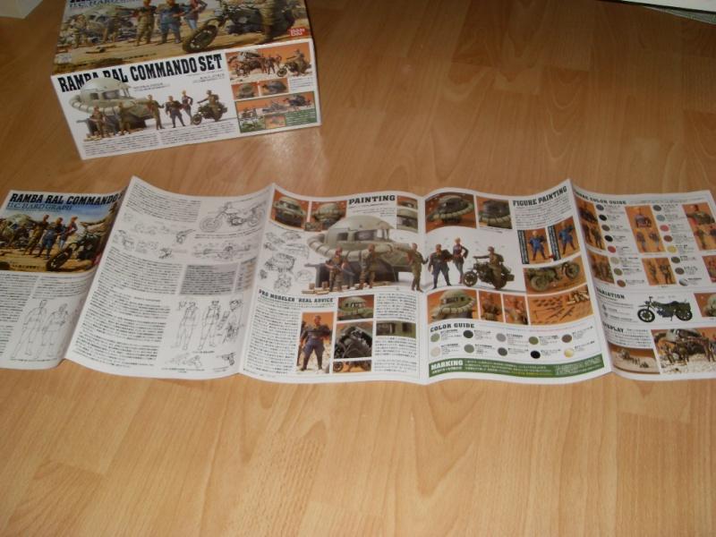Ramba Ral Commando Set, Bandai, 1:35 Sdc12319