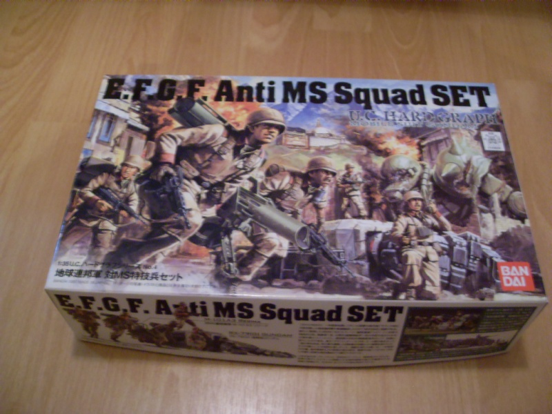 UC HARDGRAPH E.F.G.F. Anti MS Squad SET, 1:35 von Bandai Sdc12321