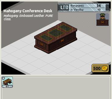 [ALL] 1° Raro LTD Army: Mahogany Conference Desk - Pagina 2 1376