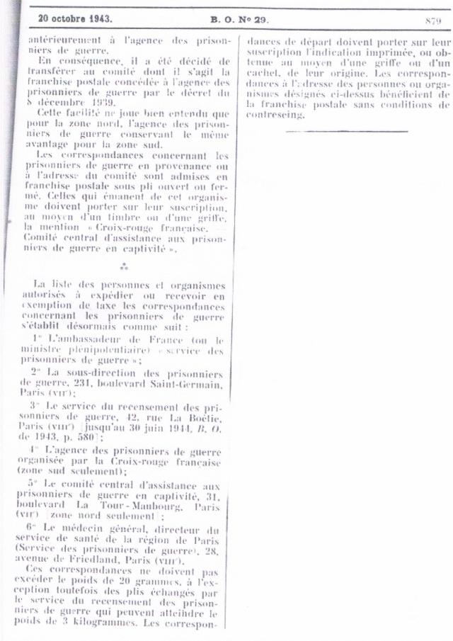 Enveloppe cachet «  *Croix-Rouge Française *  Reims  »,  TAD  « 10.7.43  Reims-Principal ». Taxée à 8 F . Ccf30012