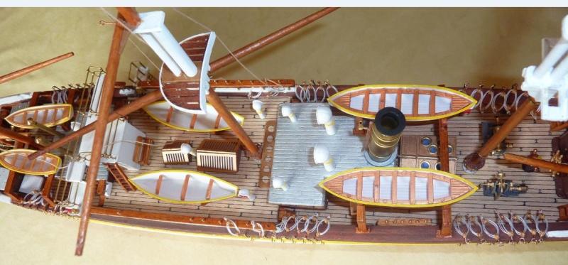 Le Pourquoi-Pas 1908 - Billing Boats - 1/75éme - Page 6 P1080411