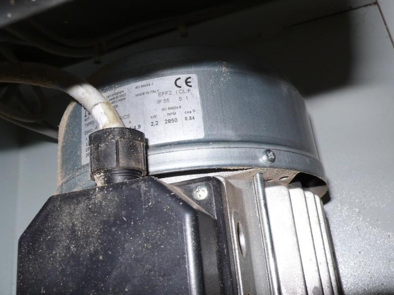 Tentative d'amélioration d'un combinée Sicar Furore 300I L1030613