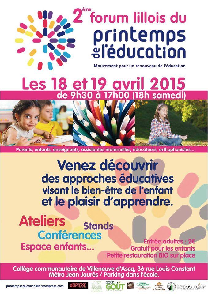 Le Printemps de l'éducation de Lille Printe10