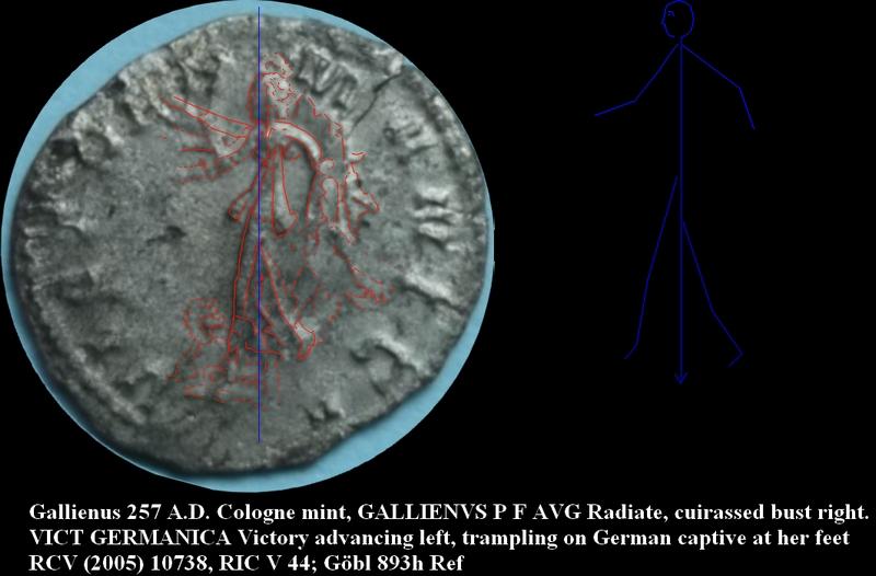 Gallien VICT GERMANICA = variante?? Ancyre11