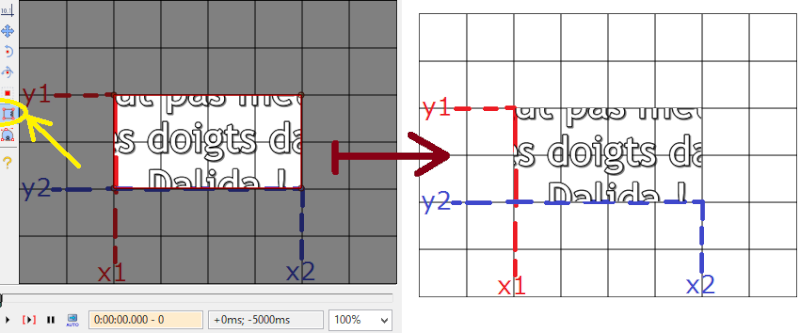 (Tutoriel avancé) Aegisub - Les balises ASS : mise en forme, mouvement et transformation des sous-titres Clip10