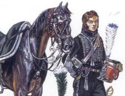 Col. Belmont Briancon, 3è rgt. Garde d'Honneur, 1814 De_bel11