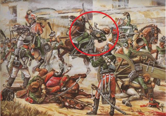 Col. Belmont Briancon, 3è rgt. Garde d'Honneur, 1814 Gh_00110