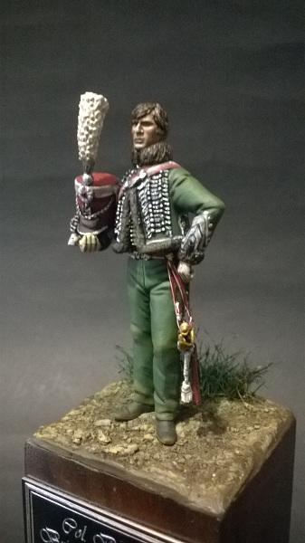 Col. Belmont Briancon, 3è rgt. Garde d'Honneur, 1814 Wp_20147