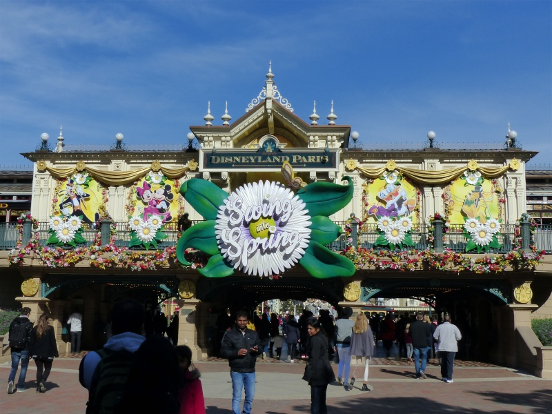 découverte du Santa fé  Disney13