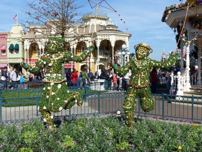 découverte du Santa fé  Disney18