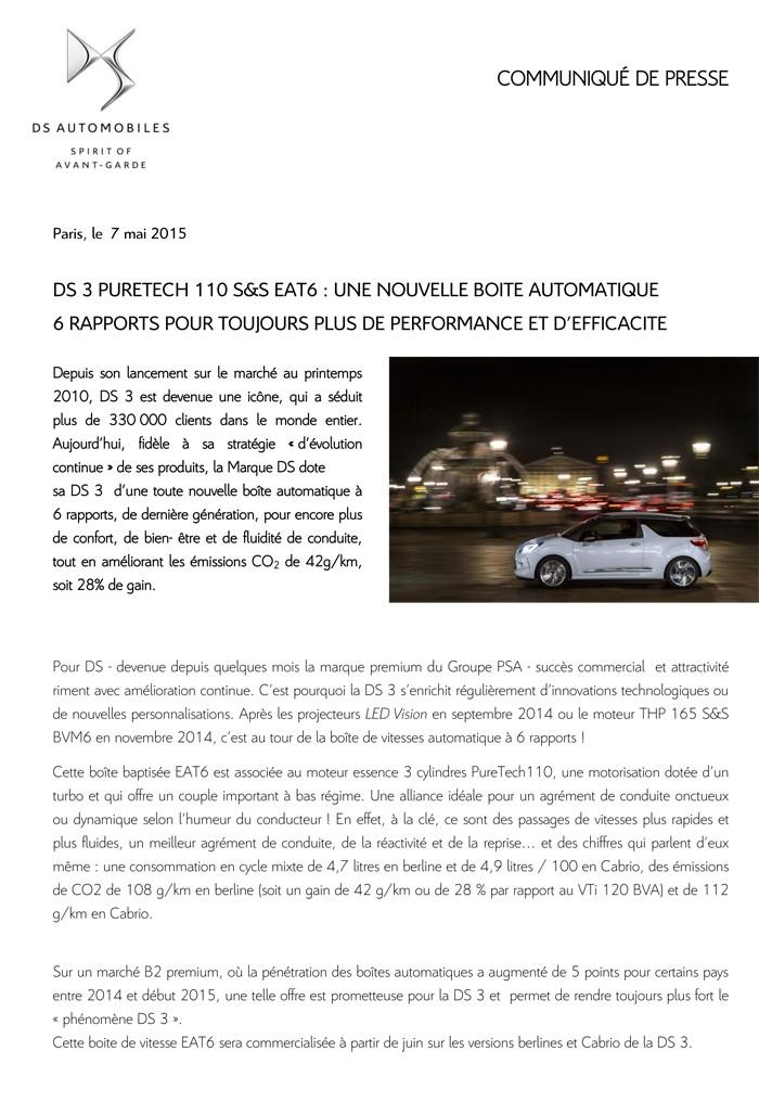 [SUJET OFFICIEL] DS 3 Nouvelle Gamme 2015 - Page 9 Cp_ds_10