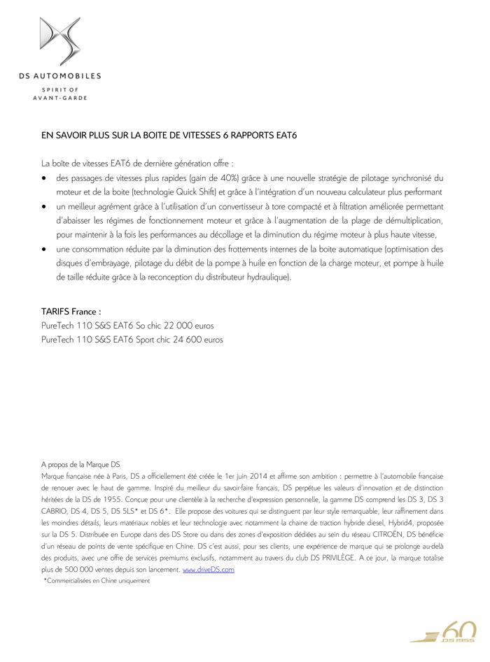 [SUJET OFFICIEL] DS 3 Nouvelle Gamme 2015 - Page 9 Cp_ds_11