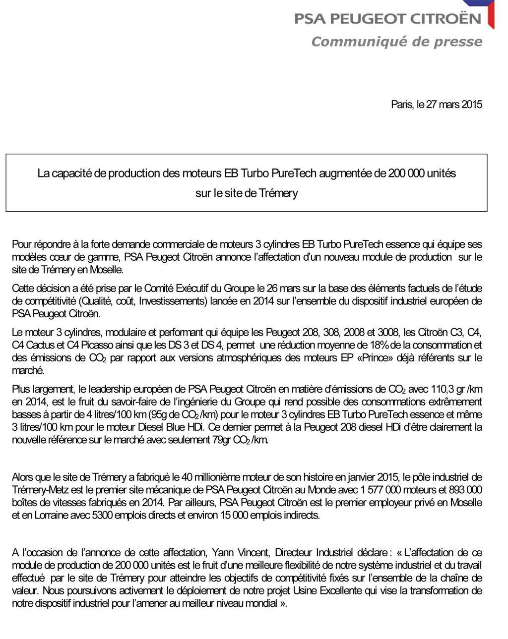 [INFORMATION] Les usines PSA en Europe - Page 15 Tremer10