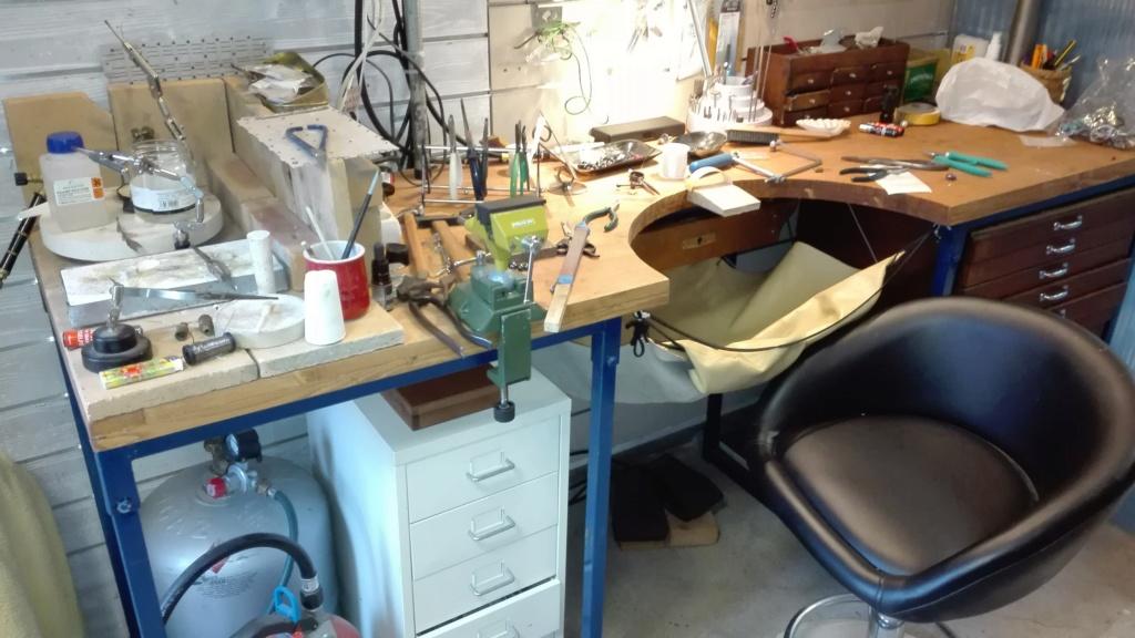 Mesa de trabajo artesanal.  Img_2011