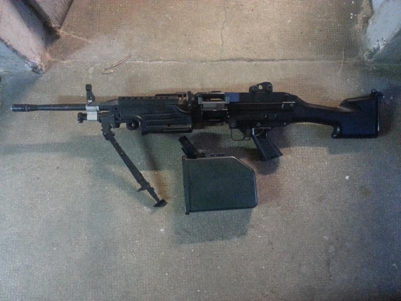 VENDS M249 150 EUROS 20150311