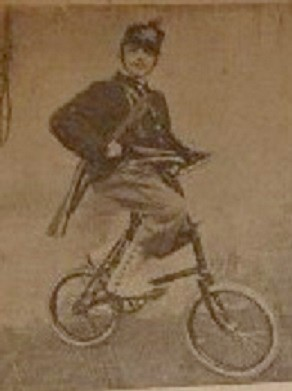 1897 - essais italiens d'un minicycle 110