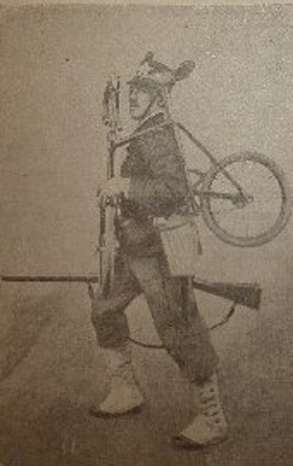 1897 - essais italiens d'un minicycle 210