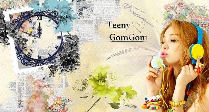 Teeny Gom Gom