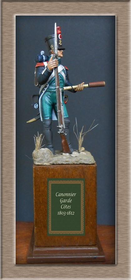 Canonnier Garde Côtes 1803-1812 Métal modèles modification 54mm 74_16712