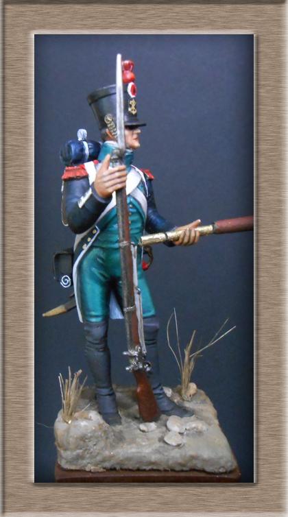 Canonnier Garde Côtes 1803-1812 Métal modèles modification 54mm 74_16713