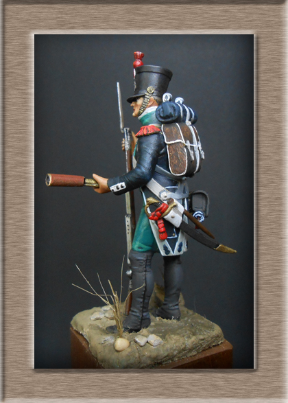 Canonnier Garde Côtes 1803-1812 Métal modèles modification 54mm 74_16813