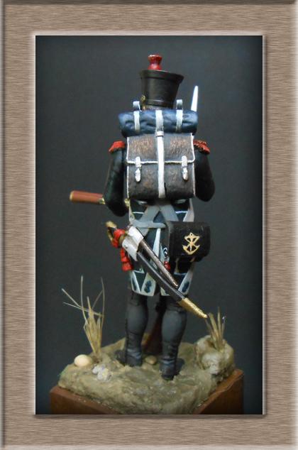 Canonnier Garde Côtes 1803-1812 Métal modèles modification 54mm 74_16913