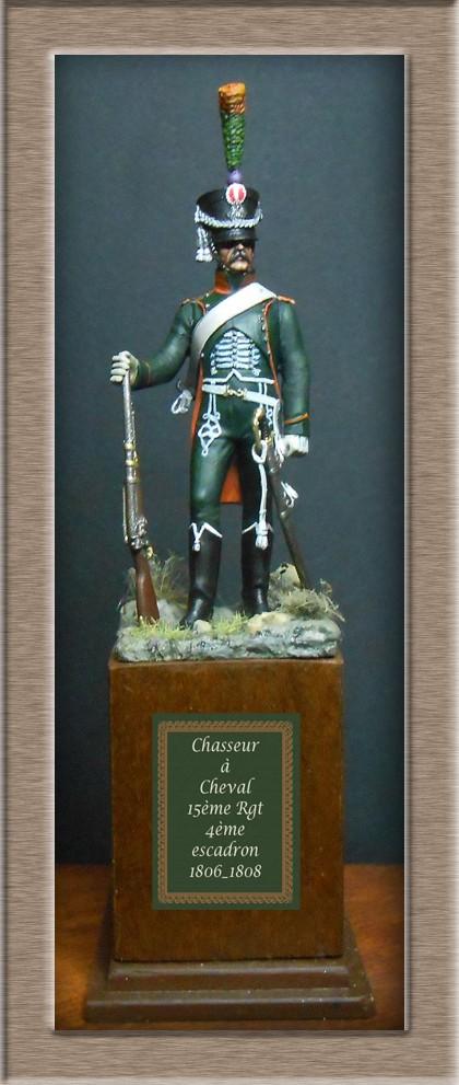 Chasseur à Cheval du 15ème Rgt 1806_1808 Métal modèles modification 74_18111