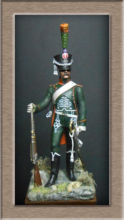 Chasseur à Cheval du 15ème Rgt 1806_1808 Métal modèles modification 74_18411