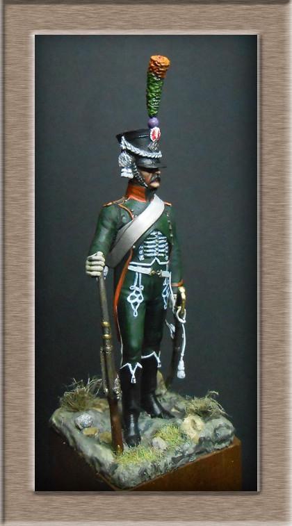 Chasseur à Cheval du 15ème Rgt 1806_1808 Métal modèles modification 74_19411