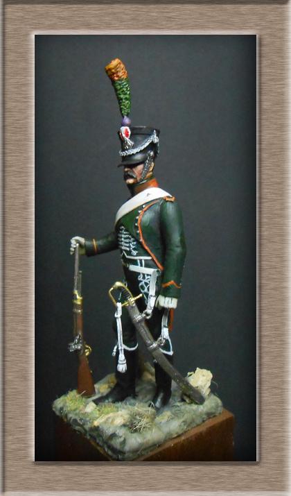 Chasseur à Cheval du 15ème Rgt 1806_1808 Métal modèles modification 74_19811