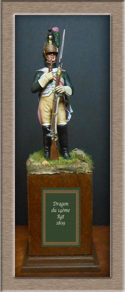 Dragon du 14e Régiment en 1809 MM 54mm 74_25611