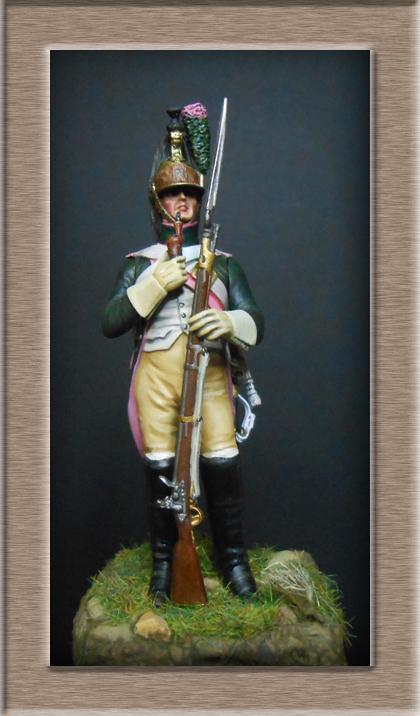 Dragon du 14e Régiment en 1809 MM 54mm 74_26711