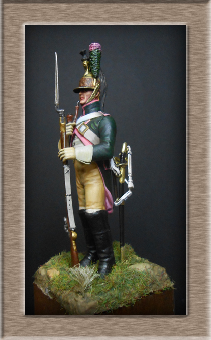 Dragon du 14e Régiment en 1809 MM 54mm 74_26911