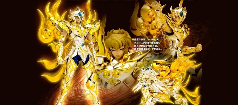 [Myth Cloth EX] Soul of Gold - Leo Aiolia gold Cloth Sog_110