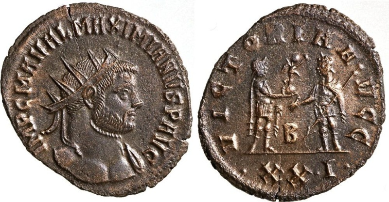 néo Antoninien  Maximien Hercule Siscia Maximi10