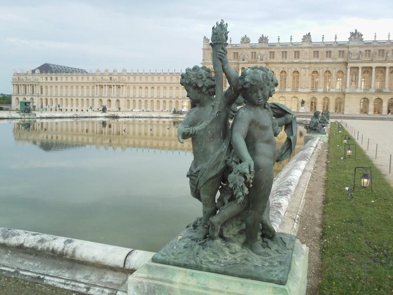 La statuaire dans les jardins de Versailles Bassin10