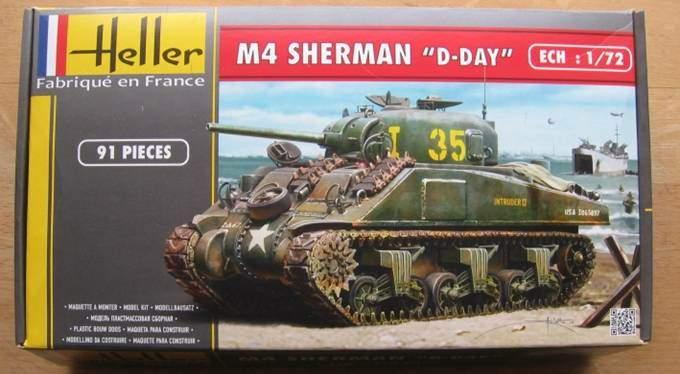 sherman M4 1/72 heller  Image210
