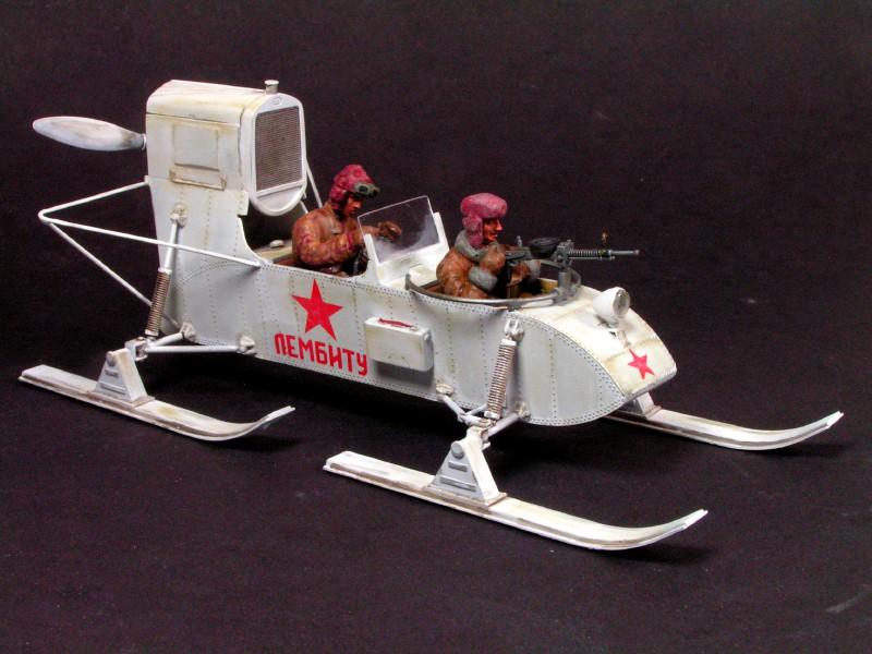 Soviet Aerosan RF-8 Fast Attack Snow Machine Aerosa11