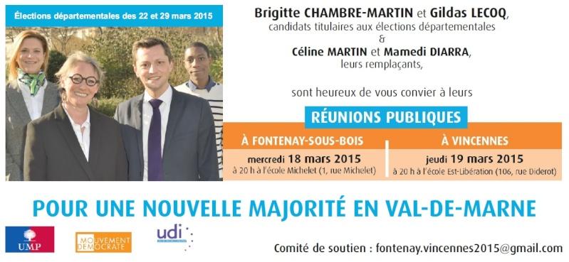 Brigitte CHAMBRE-MARTIN et Gildas LECOQ, Ensemble pour Fontenay et Vincennes - Page 7 Invita10