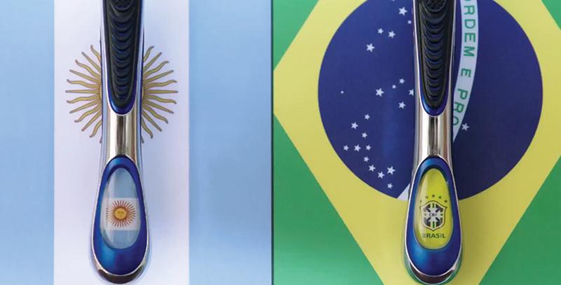 Les produits de rasage sud-américains Messi-11