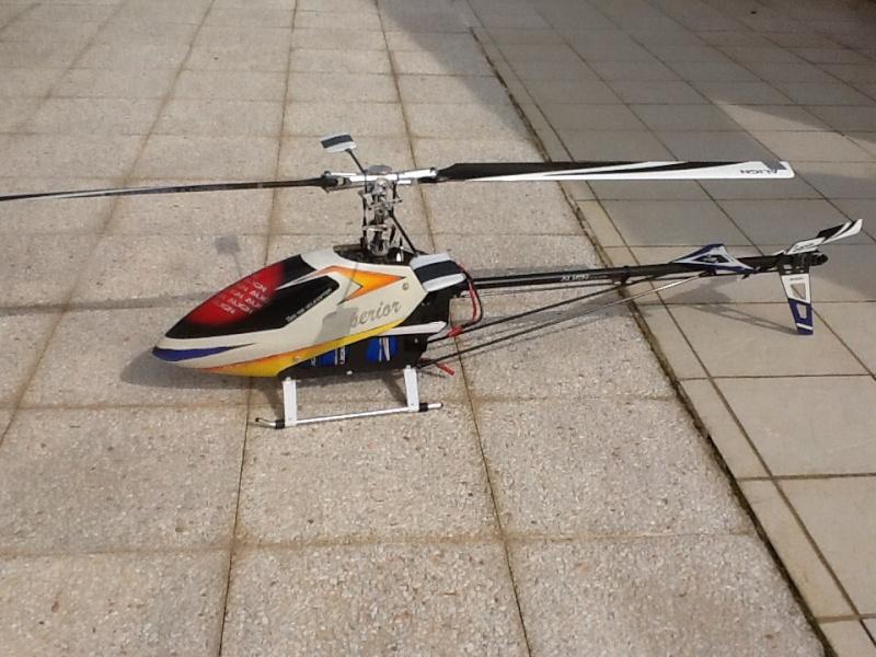 Hélico ALIGN 700 F3C Hylico10